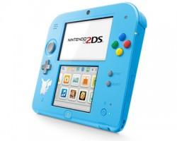 Nintendo 2DS Pokemon Edition + Pokemon Sun