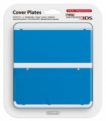 Nintendo New 3DS Cover Plate 20 Plain Blue