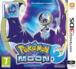 Pokemon Moon Steelbook Edition (2DS/3DS)