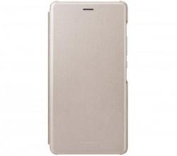 Huawei Flip Cover do P9 Lite złoty