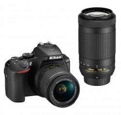 Nikon D5600 + AF-P 18-55VR + AF-P DX 70-300 VR