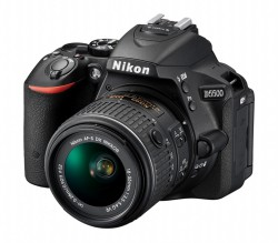 Nikon D5500 + AF-P 18-55VR + 55-200MM F/4-5.6G ED VR II černý