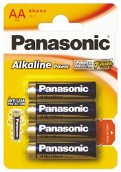 Panasonic Power Alkaline AA - 4 ks