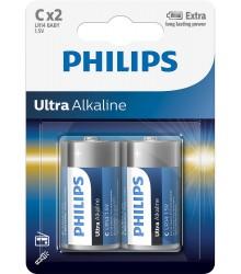 Philips Ultra Alkaline C - 2 szt