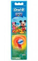 Náhradní kartáčky Oral-B EB 10-2 Kids Girl Mickey Mouse (2ks v balení)