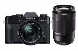 Fuji FinePix X-T10 + objektivy 16-50mm a 50-230mm černý