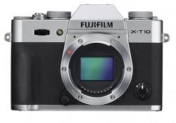 Fuji FinePix X-T10 + objektivy 16-50mm a 50-230mm stříbrný