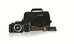 Canon EOS 1200D + objektiv EF-S 18-55 DC III + brašna 100EG + SDHC 8GB