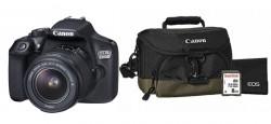 Canon EOS 1300D + EF-S 18-55 DC III + brašna 100 EG + SDHC 8GB