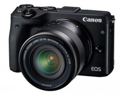 Canon EOS M3 + EF-M 18-55mm černý