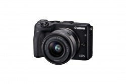 Canon EOS M3 + EF-M 15-45 mm černý