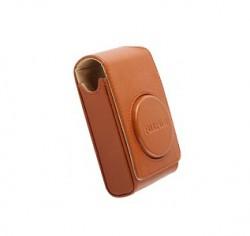 Fuji kožené pouzdro pro foťáky série XF/XQ/AX a F, hnědé