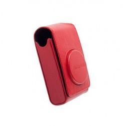 Fuji kožené pouzdro pro foťáky série XF/XQ/AX a F, červené