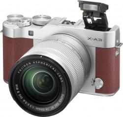 Fuji FinePix X-A3 + objektiv 16-50mm hnědý