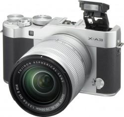 Fuji FinePix X-A3 + objektiv 16-50mm stříbrno-černý
