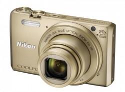 Nikon CoolPix S7000 zlatý