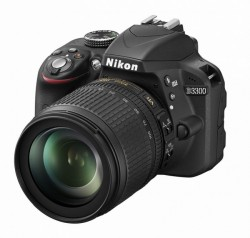 Nikon D3300 + objektiv 18-105VR černý