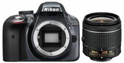 Nikon D3300 + objektiv AF-P DX 18-55VR šedý
