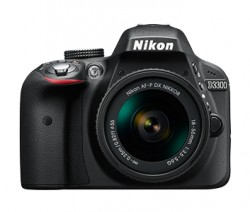 Nikon D3300 + objektiv AF-P DX 18-55VR + 55-200VR II černý