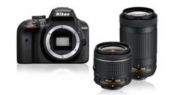 Nikon D3400 + AF-P DX 18-55 + AF-P DX 70-300