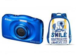 Nikon COOLPIX W100 modrý + batoh