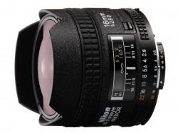 Nikkor AF 16mm f/2.8 D Fisheye [JAA626DA]