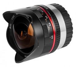 Samyang 8mm f/2.8 UMC Fish-eye Samsung NX černý [8809298882822]