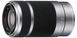 Sony 55-210 mm f/4,5-6,3 OSS stříbrný bajonet typu E [SEL55210.AE]