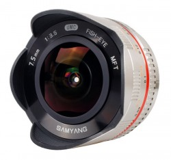 Samyang 7.5mm f/3.5 UMC Fish-Eye MTF stříbrný [8809298882914]