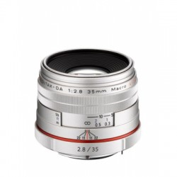 Pentax HD DA 35mm Macro f/2.8 Limited Silver [21460]