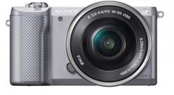 Sony Alpha ILCE-5000L + objektiv Sony SEL 16-50 mm stříbrný