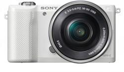 Sony Alpha ILCE-5000L + objektiv Sony SEL 16-50 mm bílý