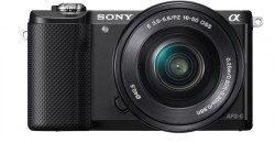 Sony Alpha ILCE-5000L + objektiv Sony SEL 16-50mm + 55-210mm černý