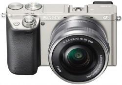 Sony Alpha ILCE-6000 + objektiv Sony SELP 16-50mm stříbrný