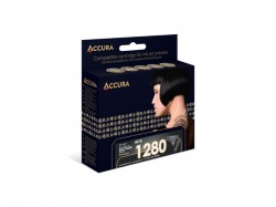 ACCURA inkoust do Brother (LC1280/1240XLBK) black 30ml