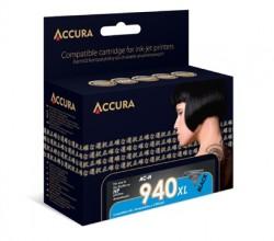 ACCURA cartridge HP No. 940XL (C4906AE) black 68ml re.