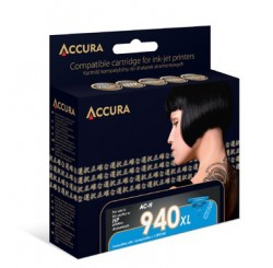 ACCURA cartridge HP No. 940XL (C4907AE) cyan 28ml re.