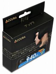 ACCURA cartridge HP No. 940XL (C4909AE) yellow 28ml re.