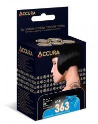 ACCURA inkoust pro HP No. 363 (C8771EE) cyan 12ml re