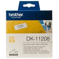Štítky Brother DK-11208