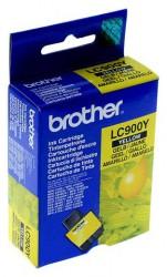 Originální inkoustová náplň Brother (LC900Y) yellow