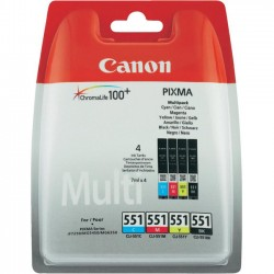Canon CLI551 C/M/Y/ BK multipack iP7250/MG5450/MG6350