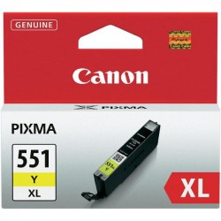 Canon CLI 551 XL žlutá