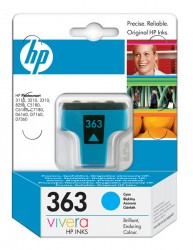 HP No. 363 (C8771EE - 4 ml) HP Photo Smart 8250 cyan