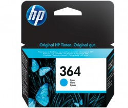 HP No. 364 (CB318EE) do Photo Smart D5460/D7560 modrý