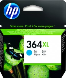HP No. 364 XL (CB 323EE) pro Photo Smart D5460/D7560 cyan