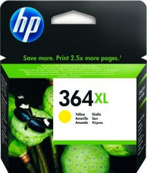 HP No. 364 XL (CB 325EE) pro Photo Smart D5460/D7560 yelow