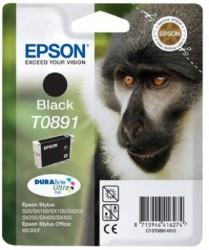 Epson DURAbrite C13T08914010 pro EPSON Stylus SX200/205 - black 5,8 ml