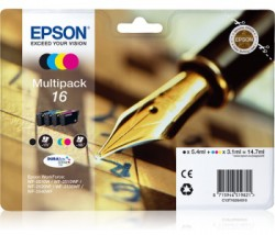 Epson C13T16264010 CMYK - sada 3 barvy + černý - WF-2010/ 25x0