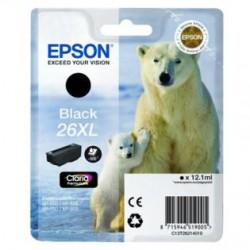 Epson C13T26214010 T2621 XL black Claria, 12,2 ml, XP-600/ 700/ 800